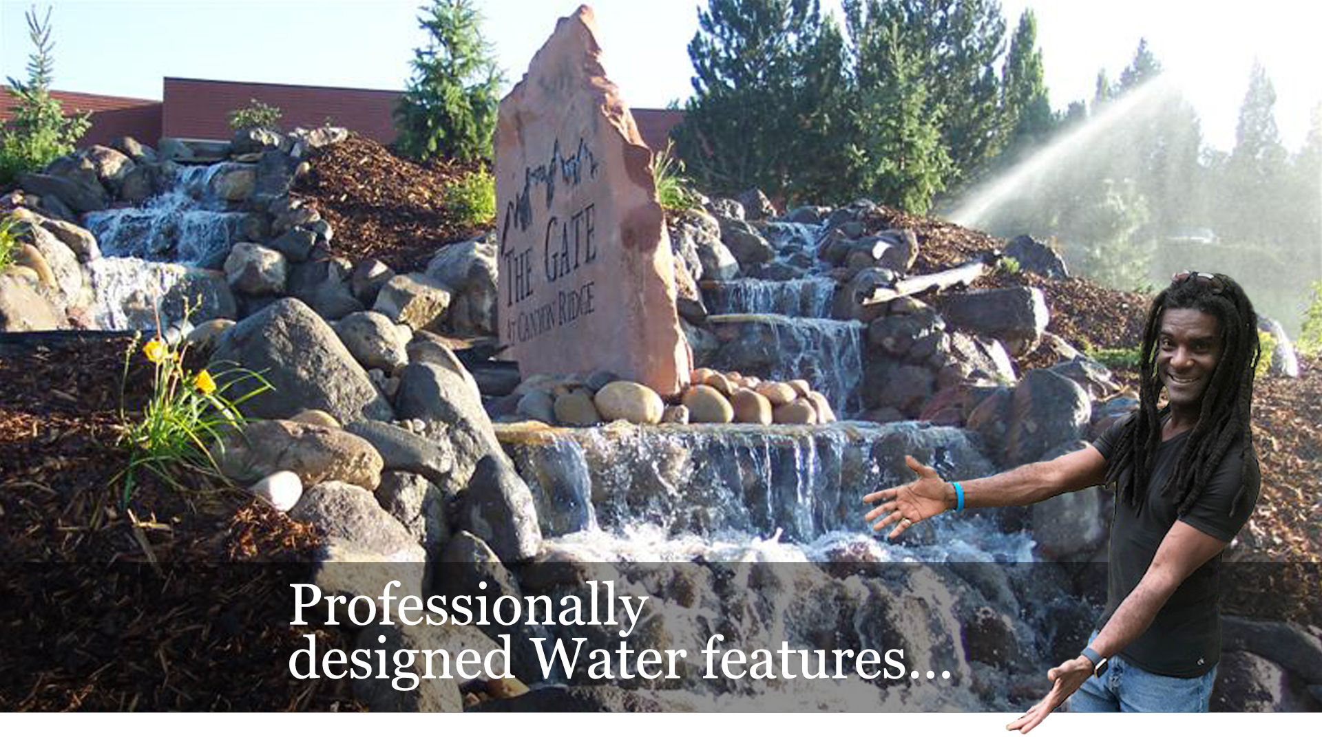 Prosionally Designed Water Features Image